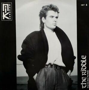 "Nik Kershaw-The Riddle/Progress Vinyl 12"" Single.1984 MCA NIKT 6."