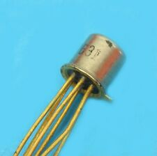 U231 TRANSISTOR DOUBLE JFET CANAL N TO-71 VINTAGE avec data