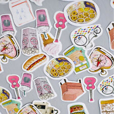 45pcs/box Stationary Paper Stickers Decor Ablum Diary Scrapbooking Label Cute
