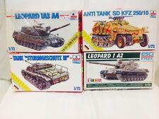 Esci 1/72 Tanks German Truck Ww2  Model Kits Job lot