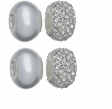 Silver Crystal Costume & Charm Bracelets