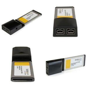 StarTech.com 2 Port ExpressCard 1394b FireWire Laptop Adapter Card - Texas...