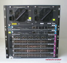 Cisco switch ws-c4507r + 2 x ws-x4516-10ge + 4x ws-x4548-gb-rj45v +ws-x4506-gb