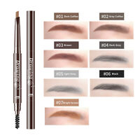Double Head Eyebrow Pencil Long Pencil Eyeline WDS Lasting Waterproof Eyebrow