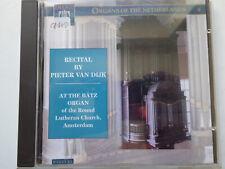 PIETER VAN DIJK <>  Recital At The Bätz Organ  <> VG++ (CD)