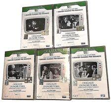 5 Dvd La Serie De La Rai NIÑOS POR PADRE TOBIA completa nuevo 1968