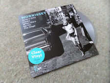 "Morrissey - Jacky's Only Happy When She's... 7"" Clear Vinyl Record 2017 NEW RARE"