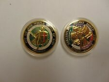 CHALLENGE COIN FREE CAPSULE SHIPPING EPHESIANS 6 PUT ON THE WHOLE ARMOR OF GOD