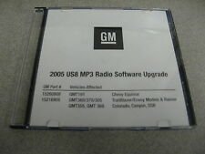 2005 US8 MP3 Radio Software Upgrade - Equinox Trailblazer Envoy Rainier Colorado
