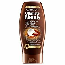 Garnier The Sleek Restorer Hair Conditioner Ultimate Blends 200ml Coconut NEW