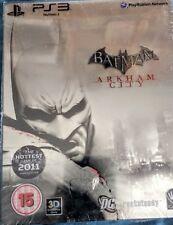 Batman Arkham City Steelbook Penguin ps3 Scellé