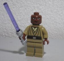 Mace Windu 7868 8019 Clone Wars Lightsaber Star Wars Lego Minifigure Mini Figure