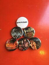"""1.25"""" Iggy And The Stooges pin back button set of 6"""