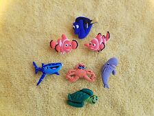 FINDING NEMO shoe charms/cake toppers!! Set of 4!! FAST USA SHIPPING!