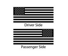American USA Flag Decals fits Ford Excursion Side window - EX1