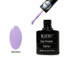Bluesky UV LED Soak Off Nail Polish Neon 23 Lavender 10ml
