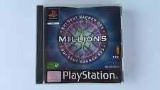 QUI VEUT GAGNER DES MILLIONS ? / jeu Playstation 1 - PS one /  PAL