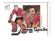 Tony Esposito AUTOGRAPH 2002 FLEER LEGACY CARD SIGNED CHICAGO BLACKHAWKS