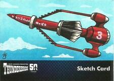 Thunderbirds 50 Years Sketch Card by Anastasia Catris of Thunderbird Three