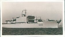 Postcard Sized Photo French Navy Ship Jules Verne A620