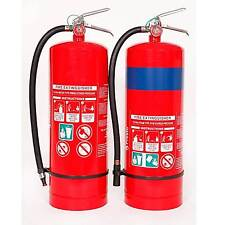 9 Litre Water Fire Extinguisher or 9 litre Foam Fire Extinguisher