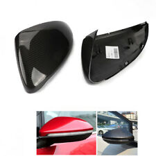 Direct Replacement Carbon Fiber Mirror Cover Caps For 2015-2018 VW MK7 Golf GTI