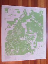 Lacoste NE Texas 1961 Original Vintage USGS Topo Map