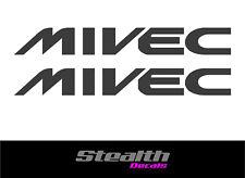 Mitsubishi MIVEC side stickers FTO Colt Mirage x2 Premium Quality