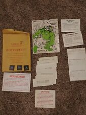 Gottlieb The Incredible Hulk Pinball Machine Original Manual and extras