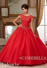 Princess/Evening/Prom/Pageant/Party/Quinceanera/Cocktail dress/Ballgown/SZ 6-14