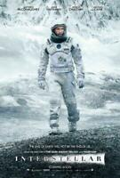 Interstellar Movie POSTER 27 x 40 Matthew McConaughey, Anne Hathaway, D