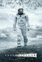 Interstellar Movie POSTER 27 x 40 Matthew McConaughey, Anne Hathaway, D