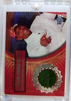 2003 03-04 Upper Deck Hardcourt LeBron James Rookie RC, Game Used Floor #LB4