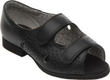 Sandali e scarpe nere con cinturino per il mare da donna
