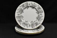 Wedgwood Ashford Grey W4106 Set of 4 Dinner Plates