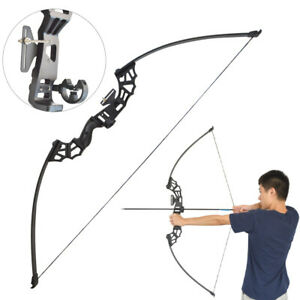 """53"""" Archery Straight Bow Fishing Hunting Takedown Shooting Target Recurve Bow"""