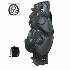 Bennington Golf Quiet Organizer 12 Cart Golf Bag, Brand New - Black