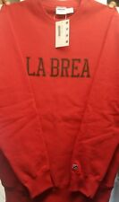 undefeated la brea sweater red large undftd
