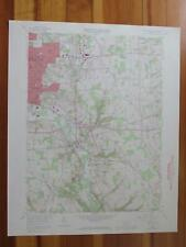 Sharon East Pennsylvania 1972 Original Vintage USGS Topo Map