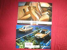 N°4398 /   RENAULT 9 grand catalogue 1982-1983