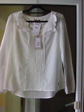 NAPAPIJRI romantische weisse Bluse  ***NEU*** Gr. L, 40, mit Stickerei
