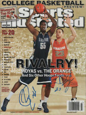 Hibbert UCONN & Devendorf Syracuse SIGNED Sports Illustrated 11/19/07 NL COA!