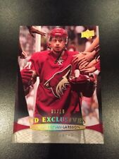 11-12 Upper Deck OLIVER EKMAN-LARSSON UD Exclusives High Gloss #1/10 Rare SP 1/1