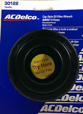 """ACDelco Cap Style Oil Filter Wrench 80MM 15 flutes 3/8""""Dr 30122 Made In The USA"""