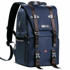 K&F Concept Extra Large DSLR Camera Backpack Bag Case Waterproof Free Rain Cover