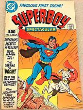 SUPERBOY SPECTACULAR#1  FN/VF 1980 DC BRONZE AGE COMICS
