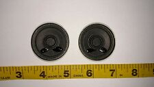 "New Pair/Set of 2 1.5"" Round Speakers TS19B 8Ω0.1W 8 Ohms 0.1 Watt Stereo"