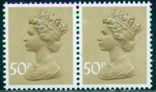 Great Britain Sg-X992, Scott # Mh-159 Pair, Mint, Og, Nh, Great Price!