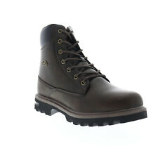 Lugz Empire HI WR MEMPHV-2115 Mens Brown Leather High Top Casual Dress Boots 6.5