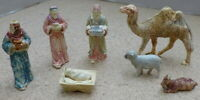 Vintage Marx Nativity Figures